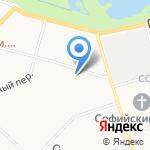 Магазин штор на карте Санкт-Петербурга