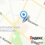 Стройблок на карте Санкт-Петербурга