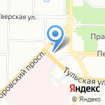 Сеть фотоцентров на карте Санкт-Петербурга