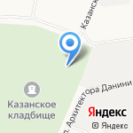 Храм иконы Казанской Божьей Матери на карте Санкт-Петербурга