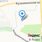 Санкт-Петербургский государственный аграрный университет на карте Санкт-Петербурга