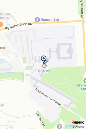 ПОДГОТОВИТЕЛЬНЫЕ КУРСЫ ИНСТИТУТ ПРАВОВЕДЕНИЯ И ПРЕДПРИНИМАТЕЛЬСТВА на карте Пушкина