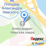 Миссионерский отдел Санкт-Петербургской Епархии на карте Санкт-Петербурга