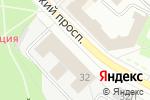 Схема проезда до компании Радиант в Санкт-Петербурге