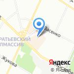 Полюстровский на карте Санкт-Петербурга