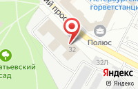 Схема проезда до компании ПитХим в Санкт-Петербурге