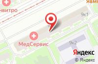 Схема проезда до компании ВотОнЯ в Санкт-Петербурге