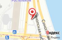 Схема проезда до компании Делком-Медиа в Санкт-Петербурге