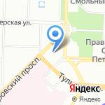 Васильев на карте Санкт-Петербурга