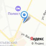 Старый Дворик на карте Санкт-Петербурга