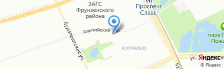 Мёд на карте Санкт-Петербурга
