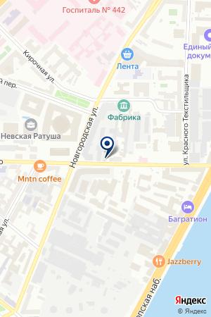 ТФ ПЕТРОВ Д.Н. на карте Санкт-Петербурга