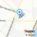 ЛАТ на карте Санкт-Петербурга
