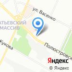 Полюс на карте Санкт-Петербурга