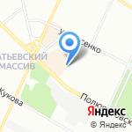 Тим на карте Санкт-Петербурга