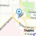 Управление на транспорте МВД РФ по Северо-Западному федеральному округу на карте Санкт-Петербурга
