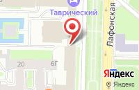 Схема проезда до компании Квантум Медиа в Санкт-Петербурге