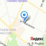 Магазин товаров для садоводов на карте Санкт-Петербурга