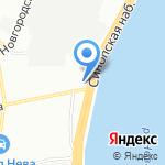 Часовня Иконы Божией Матери всех скорбящих радость на карте Санкт-Петербурга