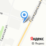 АВМ-Звено на карте Санкт-Петербурга