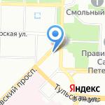 Постоянная комиссия по делам молодежи на карте Санкт-Петербурга
