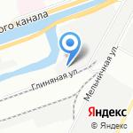 Обводный 14 на карте Санкт-Петербурга