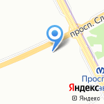 Шарм на карте Санкт-Петербурга