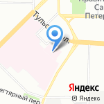 Эльфея на карте Санкт-Петербурга