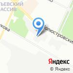 Октиле на карте Санкт-Петербурга