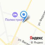 PetShop на карте Санкт-Петербурга