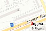 Схема проезда до компании Укрвікна в
