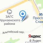 Слово на карте Санкт-Петербурга