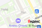 Схема проезда до компании Веда в Санкт-Петербурге