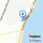 Цветы-Сервис на карте Санкт-Петербурга