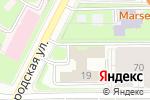 Схема проезда до компании ВАДЭН в Санкт-Петербурге
