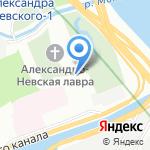 Федоровская церковь на карте Санкт-Петербурга