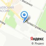 КОМСТЭТ на карте Санкт-Петербурга