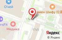 Схема проезда до компании Азия в Санкт-Петербурге