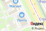 Схема проезда до компании Дочки-Сыночки в Санкт-Петербурге