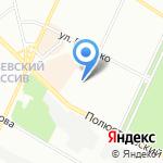 Ветеринарная станция Выборгского на карте Санкт-Петербурга