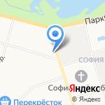 МаксиМусс на карте Санкт-Петербурга