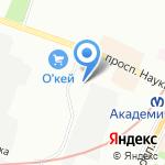 Арк-Пневматик на карте Санкт-Петербурга
