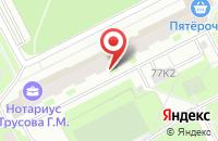 Схема проезда до компании Холдинг Спб в Санкт-Петербурге