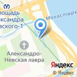 Церковь Святителя Николая Чудотворца на карте Санкт-Петербурга