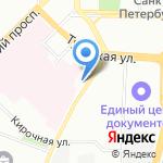 Почтовое отделение №124 на карте Санкт-Петербурга