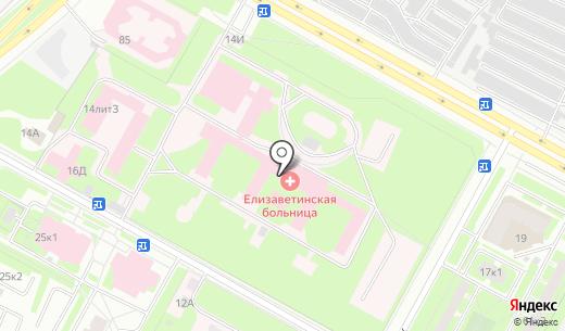 Кладовая здоровья. Схема проезда в Санкт-Петербурге