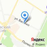 Городской центр жилищных субсидий на карте Санкт-Петербурга