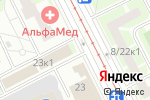 Схема проезда до компании Киоск по ремонту обуви в Санкт-Петербурге