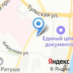 Таларии на карте Санкт-Петербурга