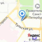 EVOS на карте Санкт-Петербурга
